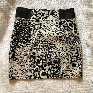 Leopard Print Pencil Skirt from Forever 21